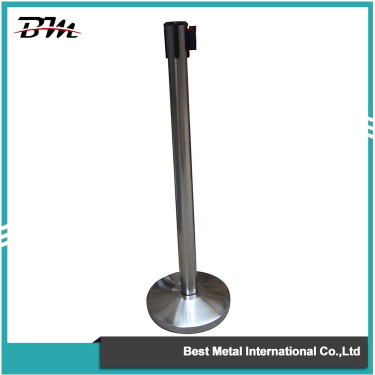 Polished Crowd Control Stanchion