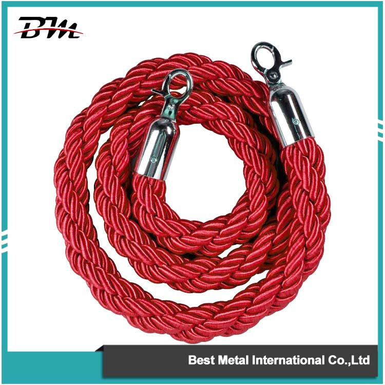 Red Twisted Ropes