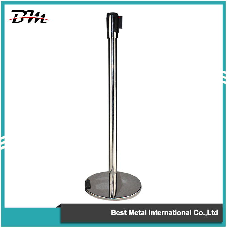 Roller Retractable Belt Stanchion