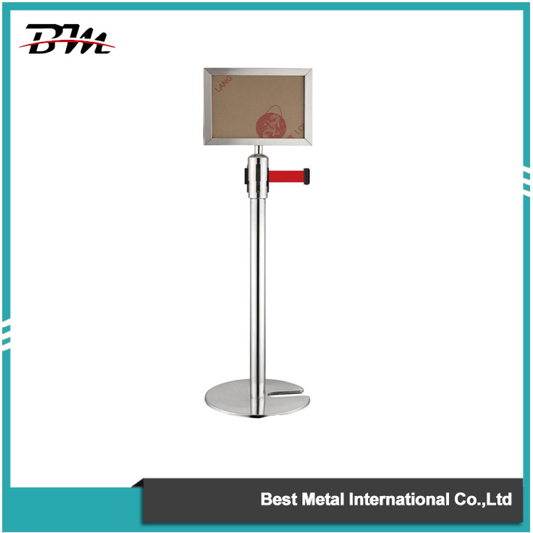 Sign Holder For Stanchion