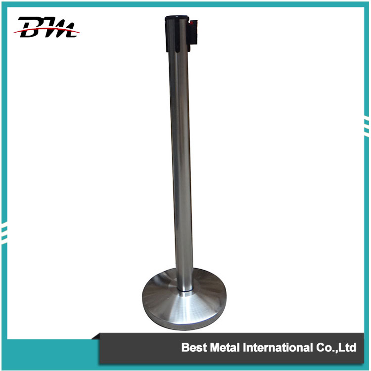 Silver Retractable Belt Stanchion
