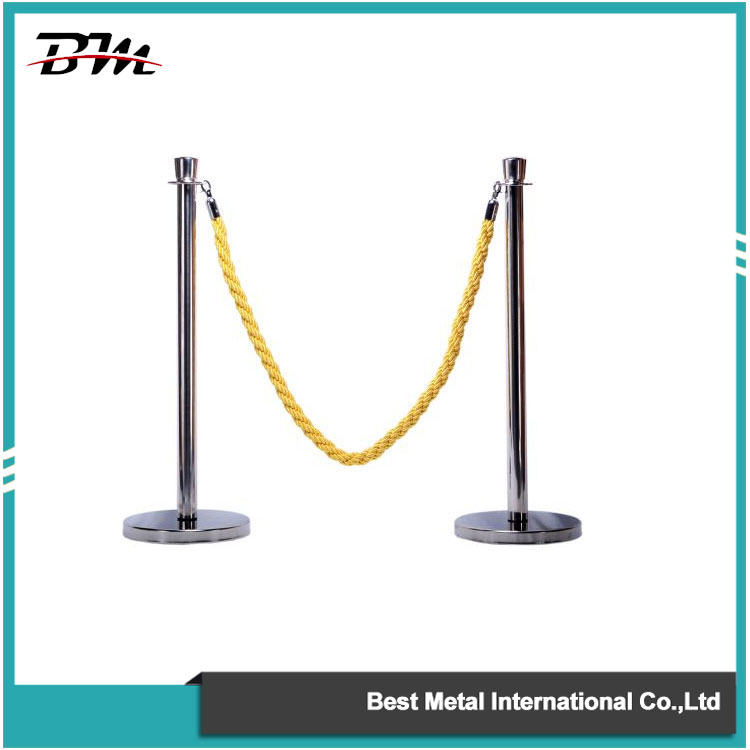 Silver Rope Stanchion
