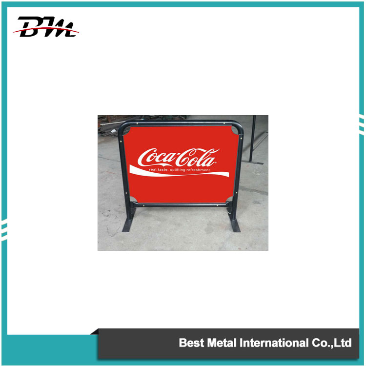 Advertising Street Barrier