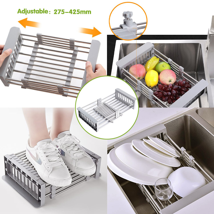 Adjustable Dish Drying Rack