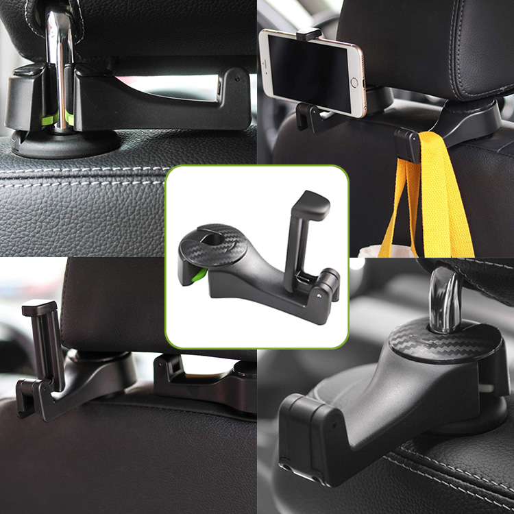 Headrest Hook for Mobile Phone