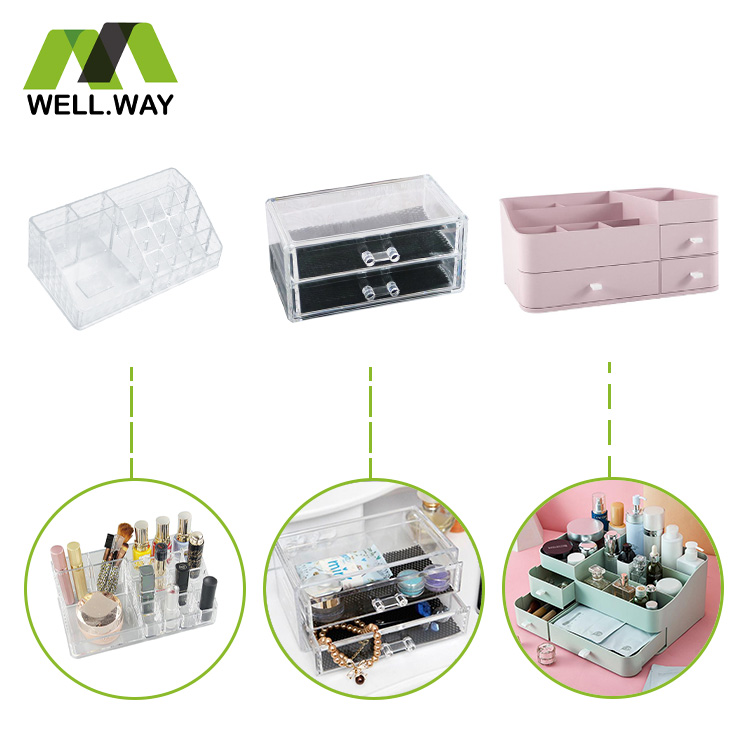 Home makeup storage box