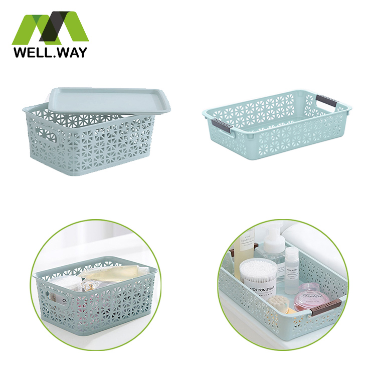 Home plastic storage basket