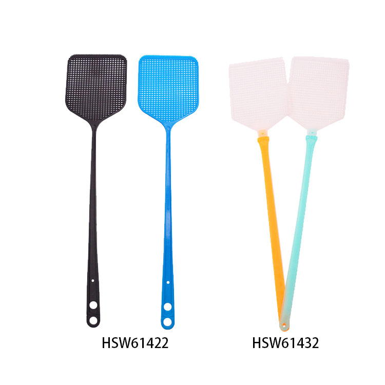 Plastic Durable Colorful Fly Swatter