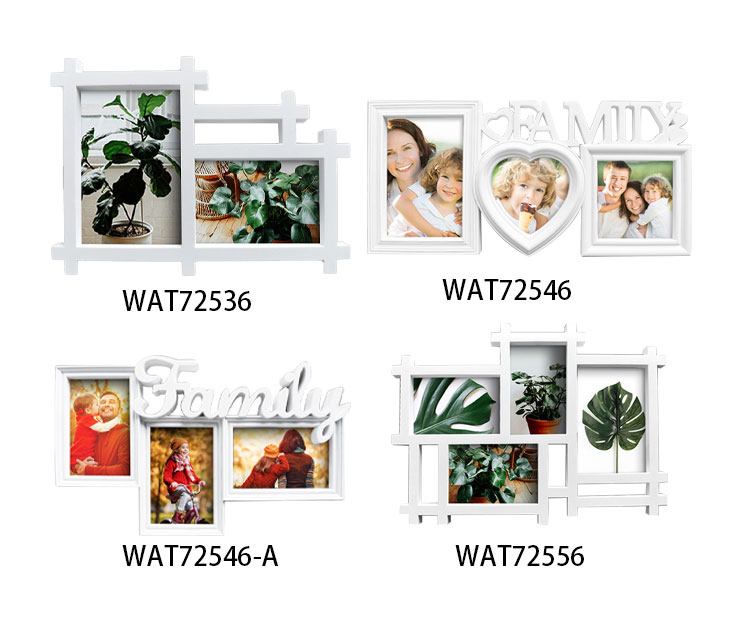 White Wall Hanging Photo Frame