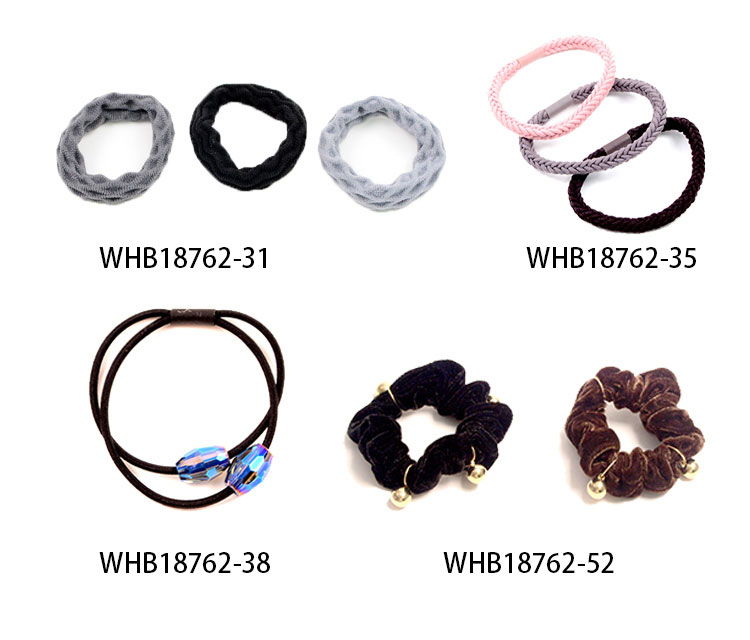 Elastic Hair Band With Decoration