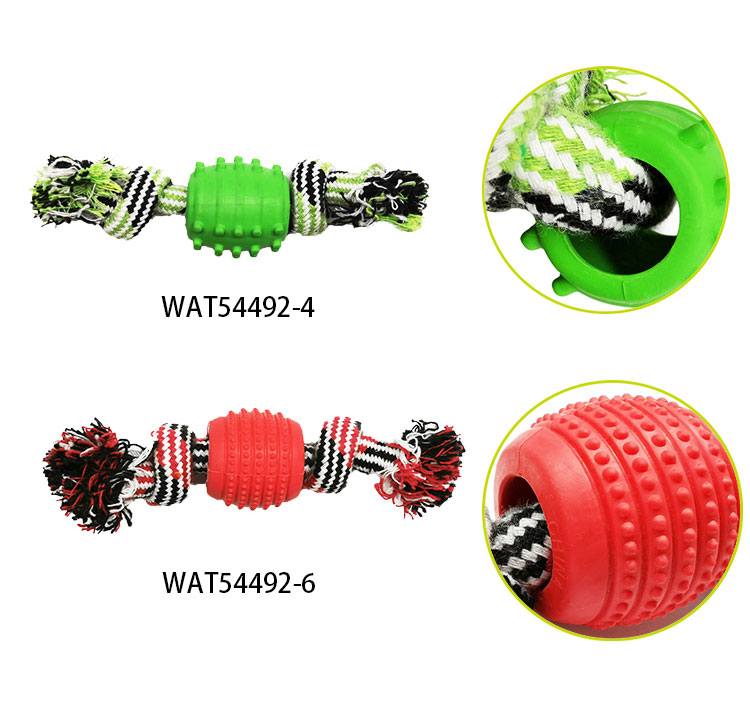 Colorful Chew Pet Dog Toy Rope