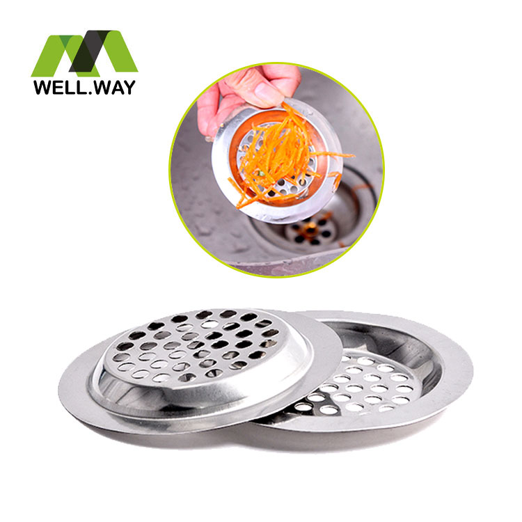 Cleaning Sink Strainer