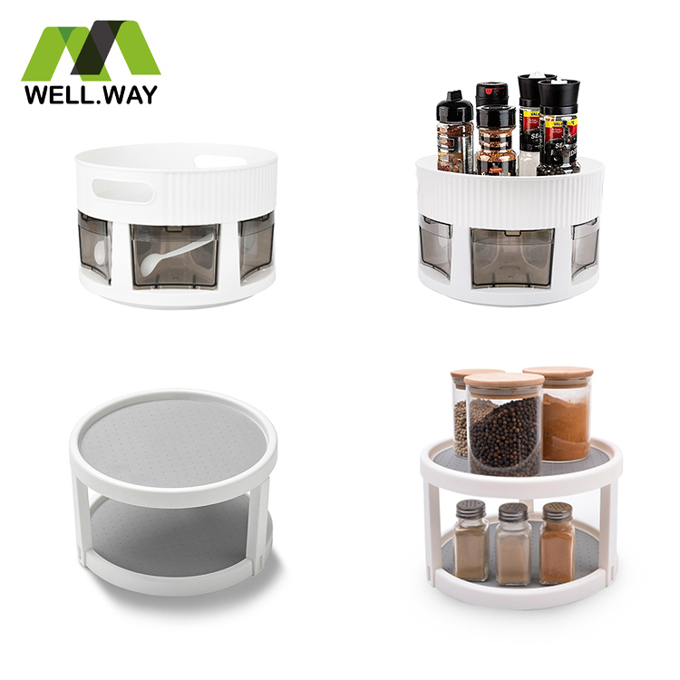 kitchen rotating spice rack