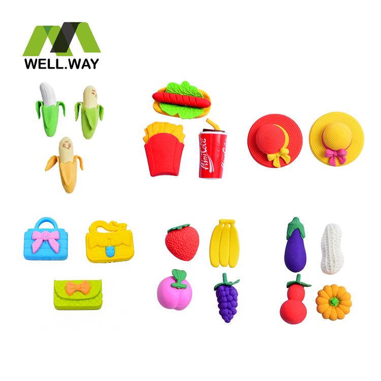 Cartoon eraser stationery
