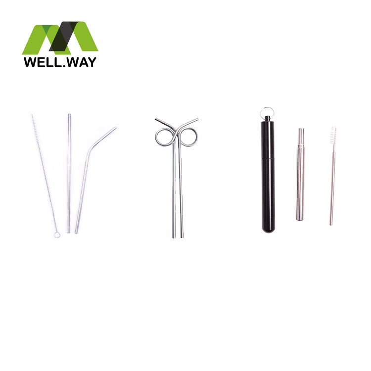 Home Stainless Steel Drinking Straw
