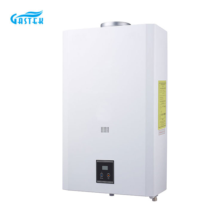 Constant Temperature flue type 1PC Battery gas water heater