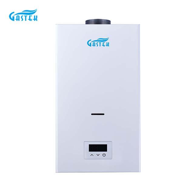 LANUGO Gas generis constant temperatus aqua calefacientis powered by electricae