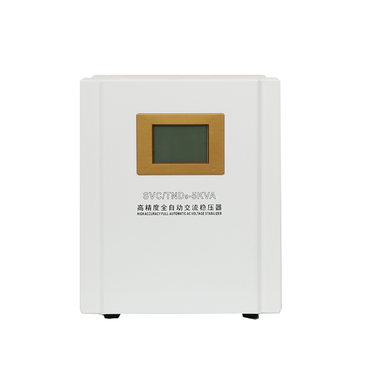 0.5KVA~5KVA Servo Type Single Phase Voltage Stabilizer