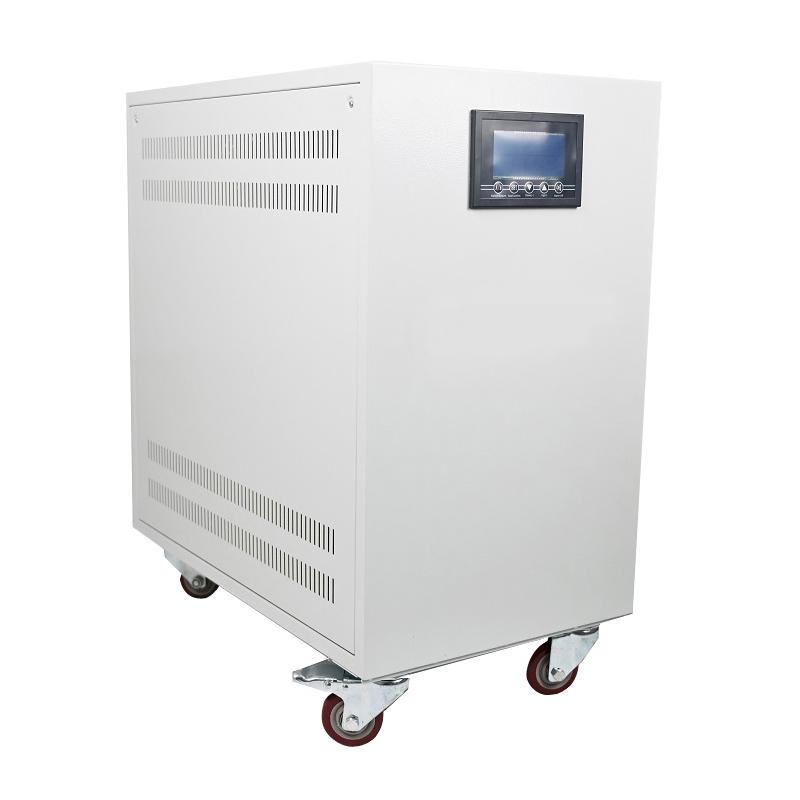 10KVA ~ 100KVA servotüübi kolmefaasiline pinge stabilisaator