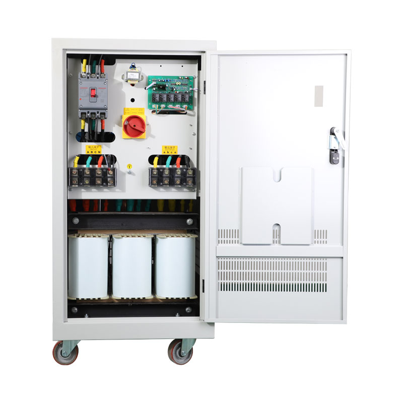 10KVA~2000KVA Servo Type Three Phase Voltage Stabilizer