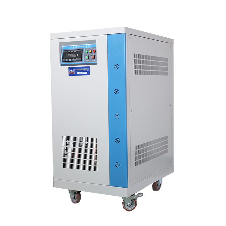 Why you can not equip an electrical leakage protector at the input side of voltage stabilizer?
