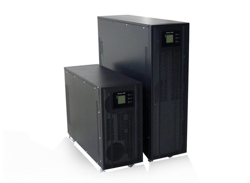 What are the main current output waveforms of UPS?