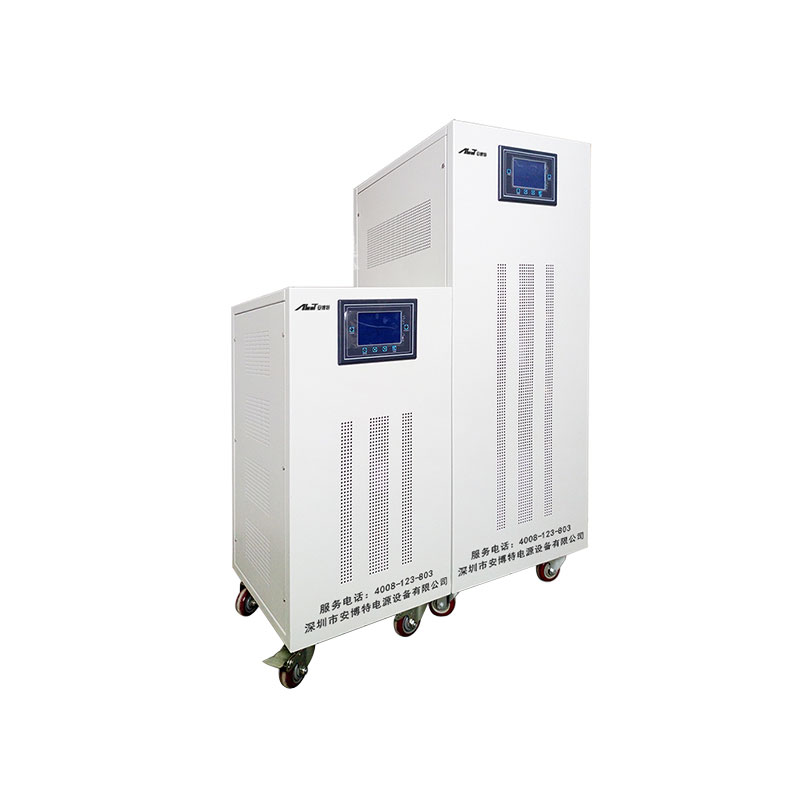 SCRモジュラータイプ静的三相電圧安定器