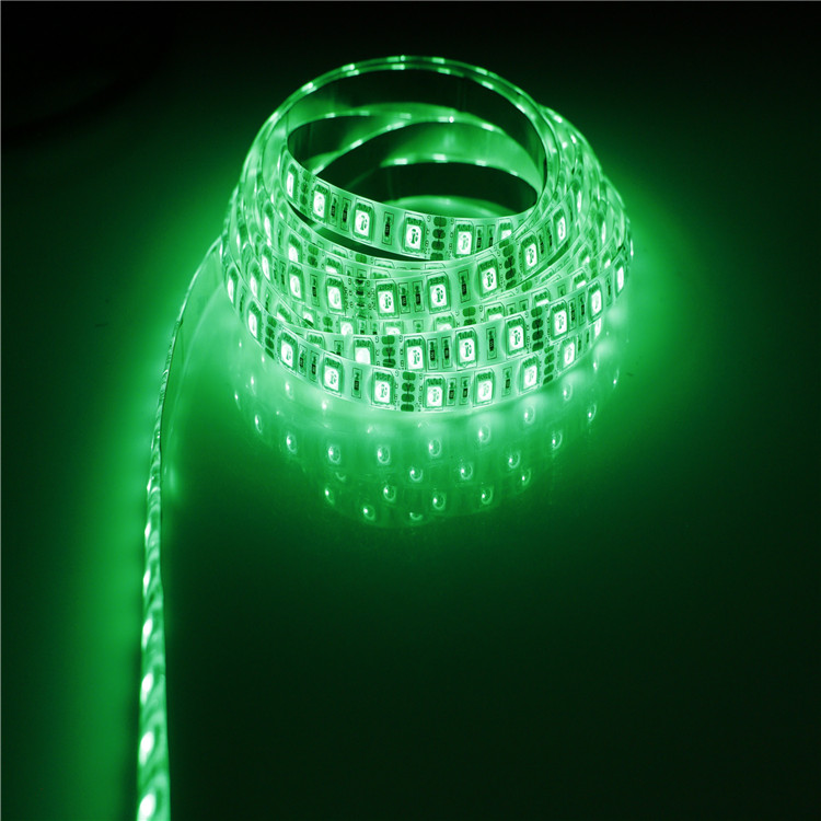 SMD2835 Green LED Strip Light 10.5W/M