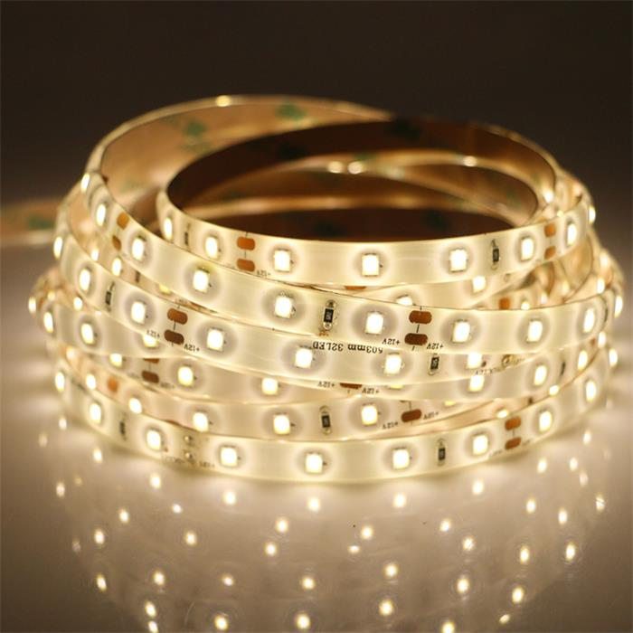 SMD2835 Warm White LED Strip Light 10.5W/M