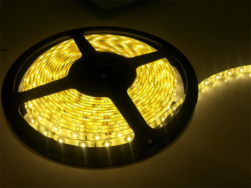 SMD2835 Yellow LED Strip Light 10.5W/M