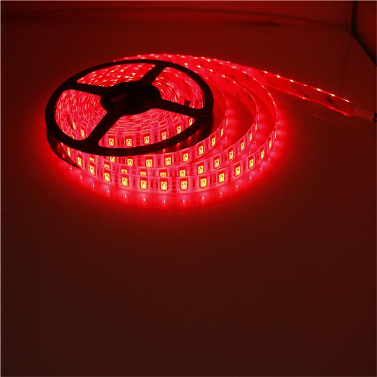 SMD5050 Red LED Strip Light 7.2W/M