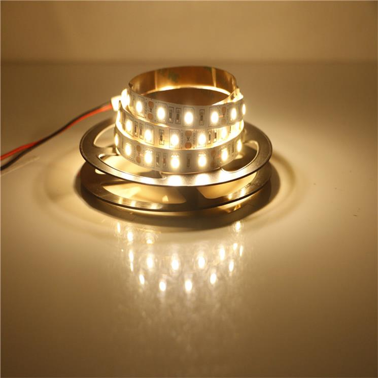 SMD5050 Warm white LED Strip Light 7.2W/M