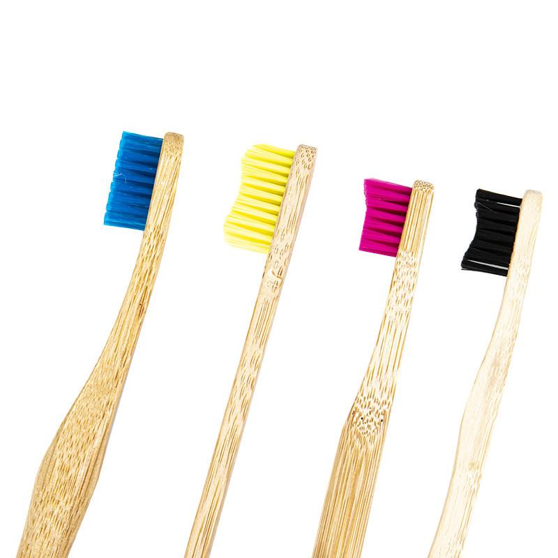 Poils de brosse à dents en bambou