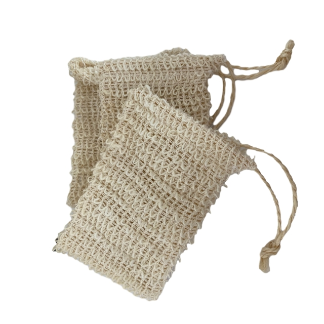 Rope Soap Pouch Bag