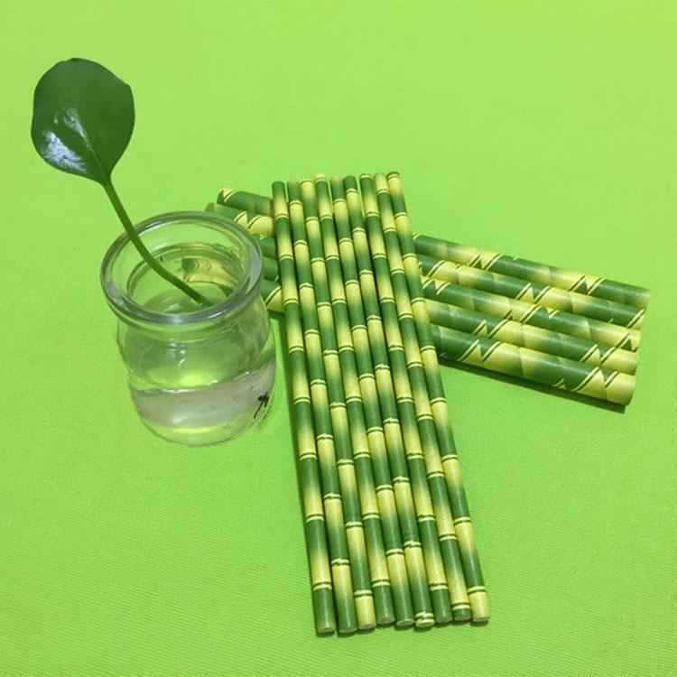 0,8 mm mellemkomposterbart biopapirstrå