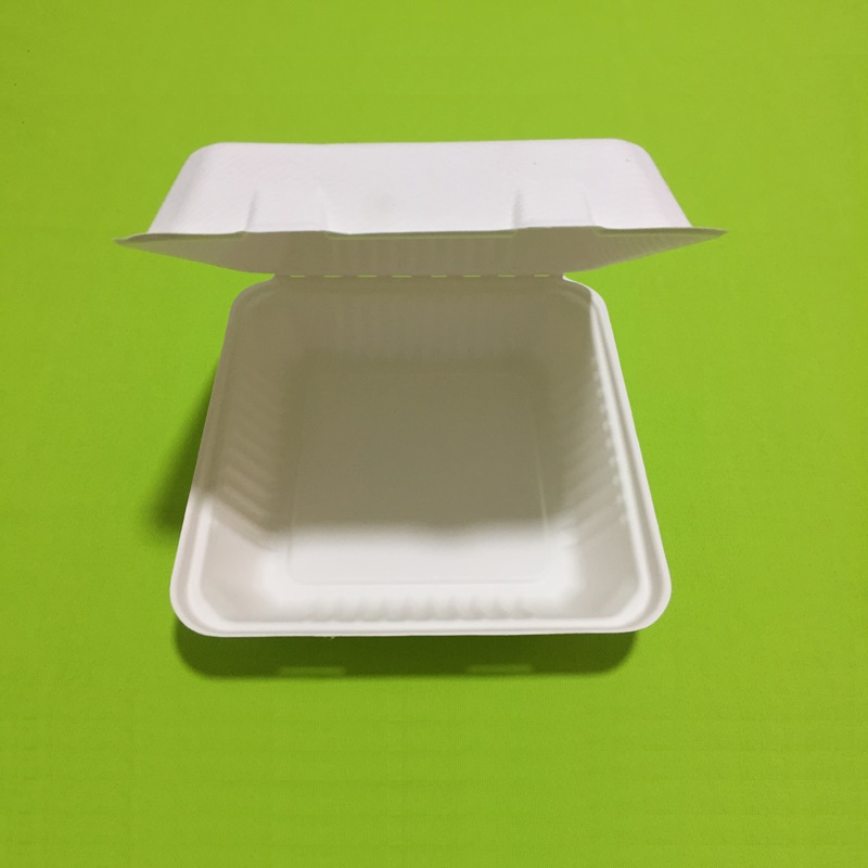 Disposable eco friendly paper lunch boxes are the first choice to replace disposable plastic lunch boxes