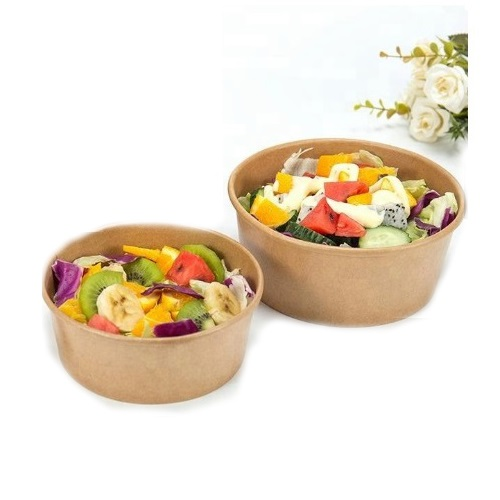 48 oz kraft bowls with lid