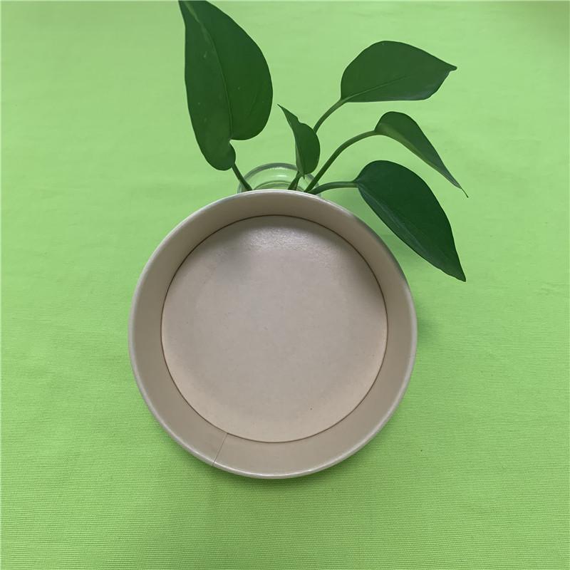 skål af bambuspapir