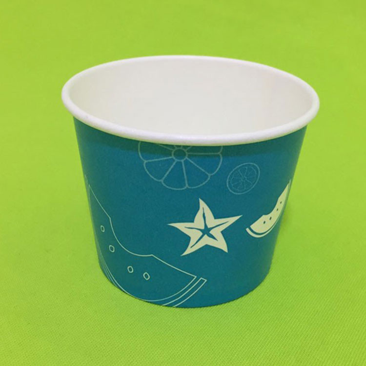 Disposable Ice Cream Cups With Lid