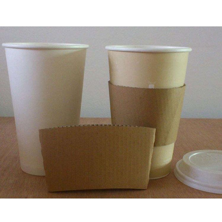 使い捨てペーパーコーヒーカップスリーブ