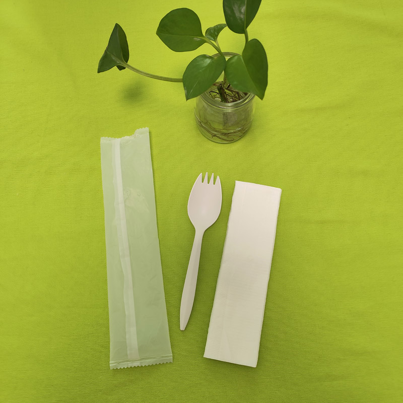individually wrapped CPLA cutlery sets