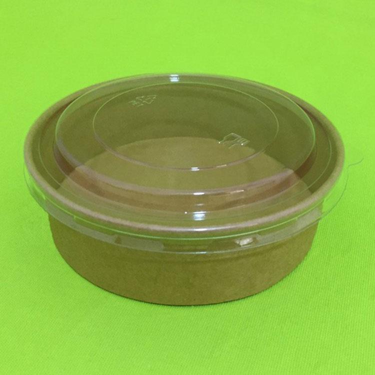 Udskrivning af salatpapirskål med PET-låg