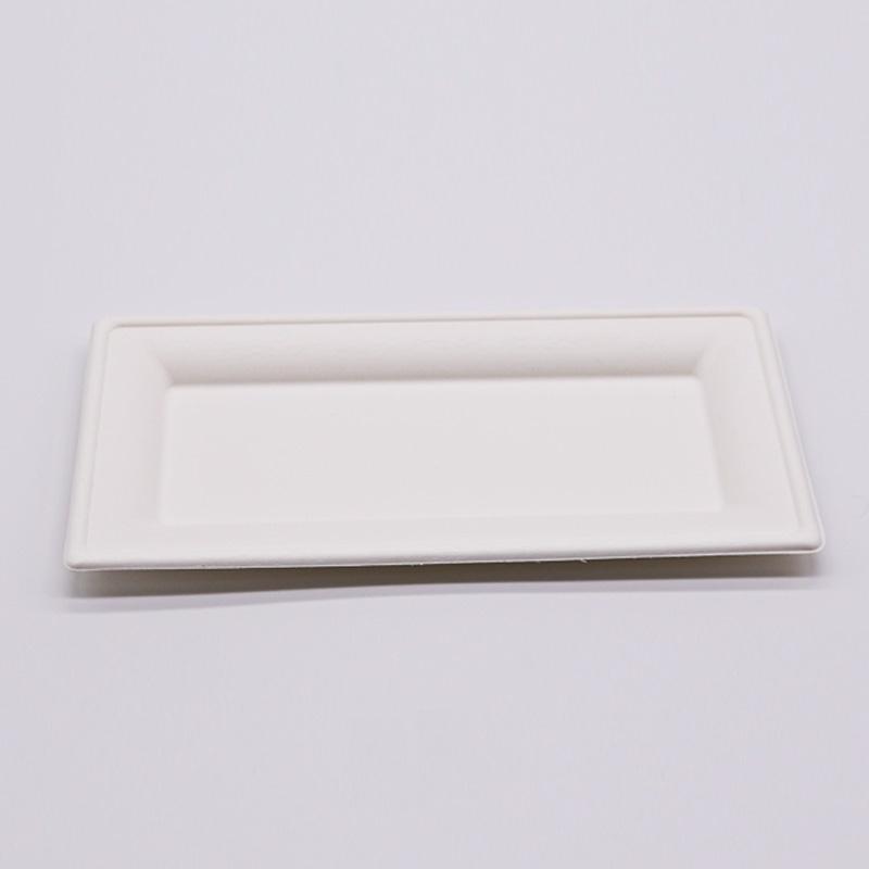 rectangular bagasse plate