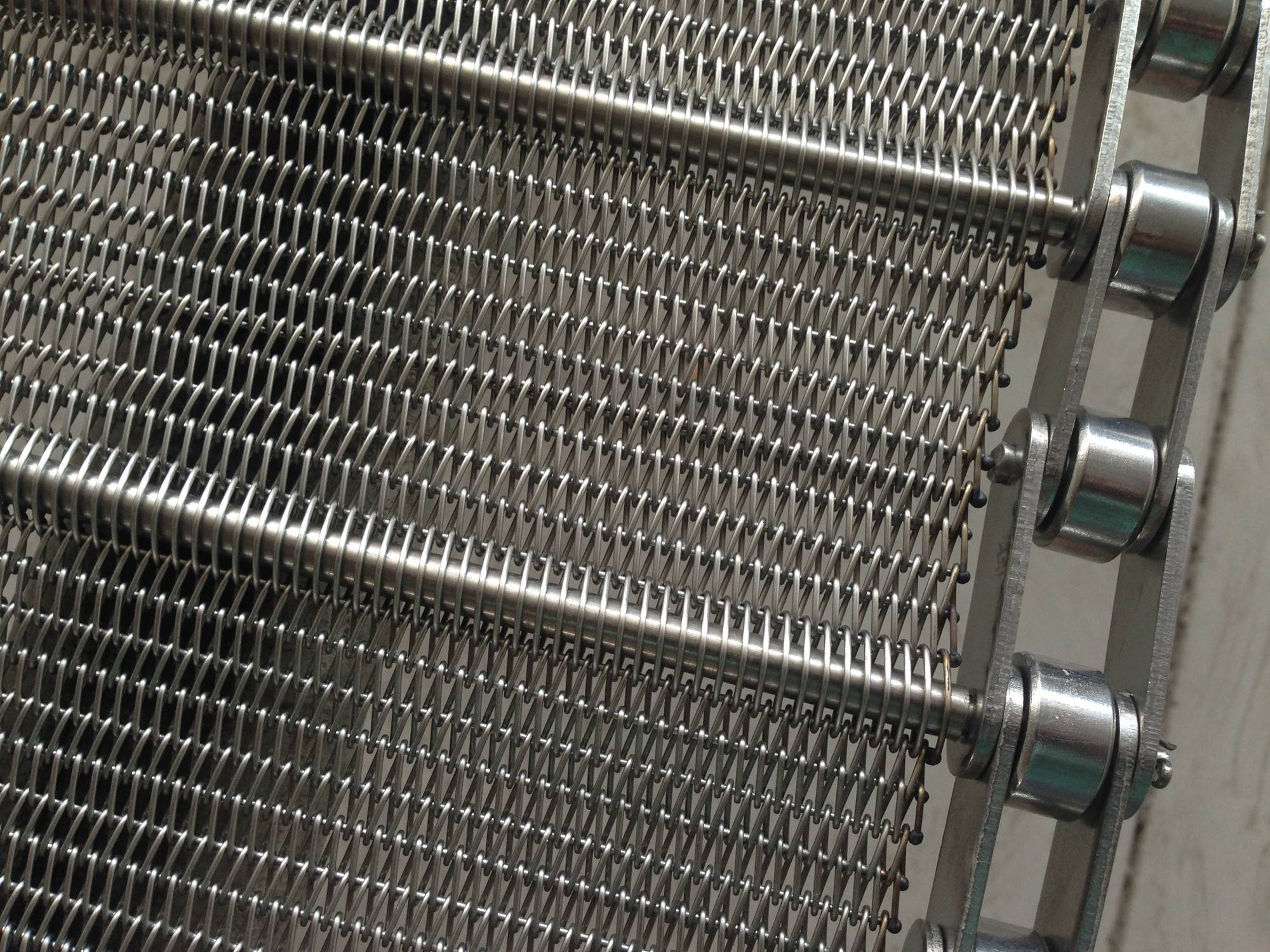 Specification and environmental requirements for stainless steel conveyor belts