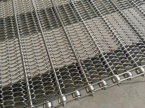 How to install stainless steel mesh belt on mesh belt conveyor