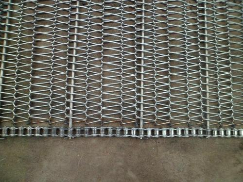 Which industries can metal conveyor belts be used in