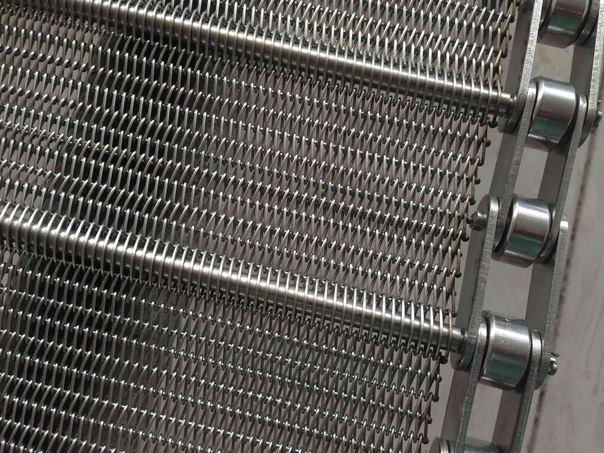 Why does the conveyor belt slip