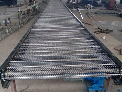 Use and storage of conveyor mesh belt