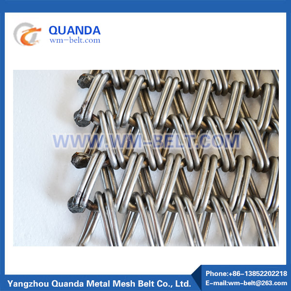 Balanced Weave Flat Wire Belt