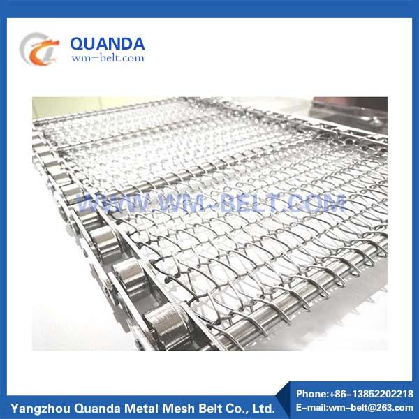 Chain Link Type Conveyor belt